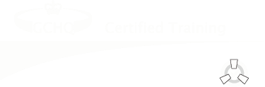 GCHQ Certified Training logo