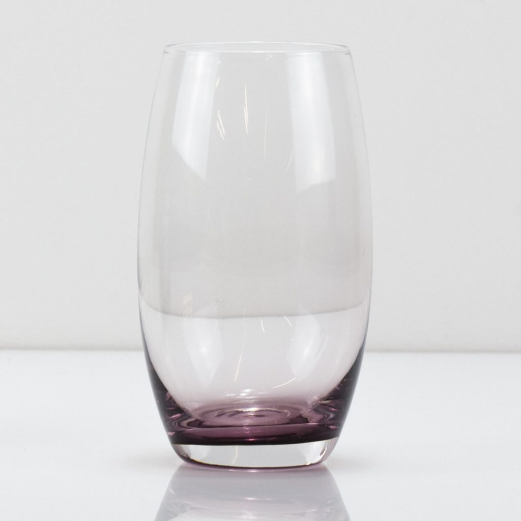 A glass half full (or empty) of water